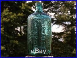 1 of the SWEETEST IRON PONTILLED G. W. MERCHANT/LOCKPORT, N. Y. BOTTLES OUT THERE
