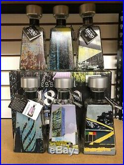 1800 Tequila Artist Series Enoc Perez BOTTLE UN Building in NYC New York City