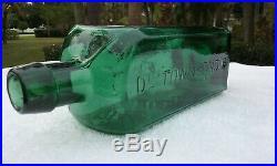 1800's Dr. Townsend's Sarsaparilla, Albany Ny. Antique Bitters Bottle! Super