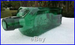 1800's Dr. Townsend's Sarsaparilla, Albany Ny. Antique Bitters Bottle! Super
