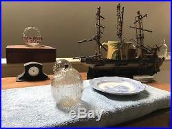 1800'sBlownRibbedToilet-FloatCHAS. ARGENT360 CRESCENT ST. BROOKLYN N. Y