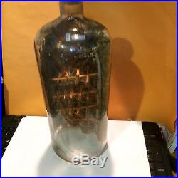 1800s Ship in Bottle from Shenerock Shore Club Rye, New York-Nantucket
