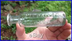 1820s lead flint pontil LA MOTT'S COUGH DROPS NY and Ohio