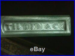 1850's Tilden & Co New York Medicinal Cannabis Marijuana Op Medicine Bottle