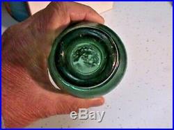 1850's W. E. B. N. Y. Iron Pontil I. P. Hat Top Green Soda Bottle