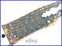 1856-1931 New York Knife Co Coke Bottle Lockback BONE Collector NYKC 1854-MNQ