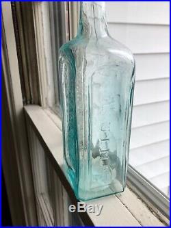 1860s Civil War Era Crude Sands Genuine Sarsaparilla New York Bottle