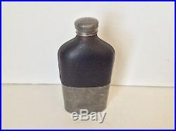 1863 W. T Fry Co. Flask Liquor Flask Bottle Civil War Era New York 17th Century
