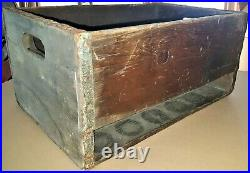 1905 Coca Cola City Delivery Crate Hutchinson Straight Bottle Syracuse New York