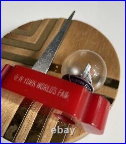 1939 NY Worlds Fair Bakelite Perfume Parfum Bottle Trylon Perisphere Gala Night
