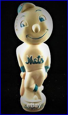 1960's Mr. Met New York Mets Bubble Bath Shampoo Bottle Rare Vintage