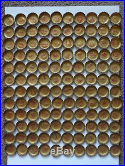 1964-65 Coke Coca Cola NEW YORK WORLD'S FAIR Bottle Caps Comp. Set 120 & Sheet