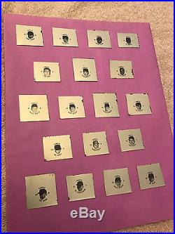 1967 Fresca PROOF Set NY YANKEES MICKEY MANTLE Bottle Caps Coke 18 Different