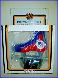 1970's New York Rangers Hockey Skate Bottle Opener NHL Scott Mint In Box