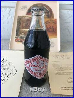 1979 New York Coca-Cola Bottling Company 75th Anniversary 1904-1979 10 oz Bottle