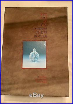1993 1st Ed ART OF CHINESE SNUFF BOTTLE, J & J COLLECTION Moss 2-Vol SCARCE