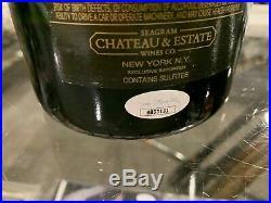 1998 Derek Jeter New York Yankees World Champs Signed Champagne Bottle Jsa Petco