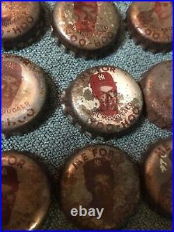 32 Rare Original Vintage 1959 Ny Yankees Yoo Hoo Cork Lined Bottle Caps