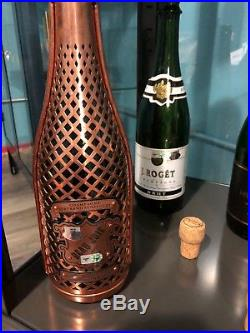 (5) New York Yankees Champagne Bottle Game Used Mlb Auth Steiner ALDS Champions