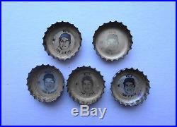5 Tom Seaver FANTA SPRITE FRESCA TAB 1968 Coke Bottle Caps NEW YORK METS N7 Rare