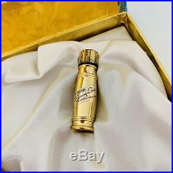 50s Evening in Paris Gold Plated Collection Bourjois New York Perfume Bottle Set