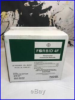 6/pk Forbid 4F Miticide 8 oz Bottles (48 Fl Oz Total) NO SHIP CA OR NY