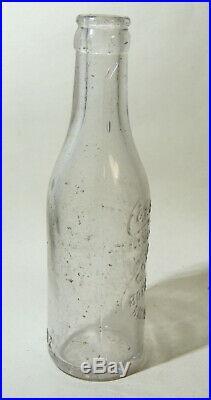 7oz ROCHESTER NY Antique vtg Coca Cola BOTTLE New York Straight Side ANDERSON