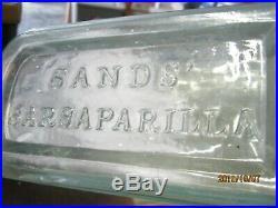 A Beauty Iron Pontiled24 Oz. Genuine Sand's Sarsaparillanew York