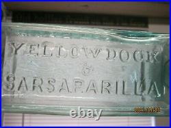 A GEMAQUA BLUEIRON PONTILEDDR GUYSOTTs YELLOW DOCK & SARSAPARILLAB&P N. Y