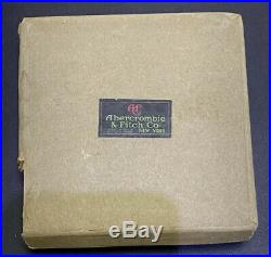 Abercrombie fitch New York Canteen Vintage In The Original Box Made In England