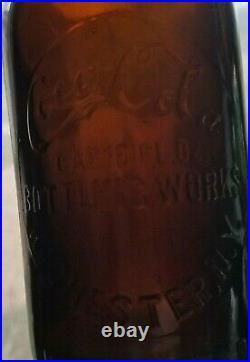 Amber Coca Cola Bottle Rochester New York