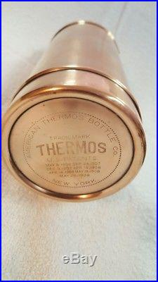 American Thermos Bottle Company 1912 Copper Brass Brooklyn New York