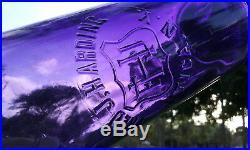Amethyst 1800's Antique Fred J. Harding, Utica, N. Y. Whiskey Bottle! 12 Tall