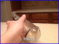 Antique Barber Hair Tonic Bottle Apothecary Le Varn's Granville New York