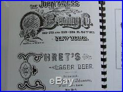 Antique Beer Bottles of Old New York (two volume set A -Z) Books by Gary Guest