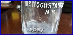 Antique Bottle BeeHive Pure Rye Hochstadter Co. N. Y