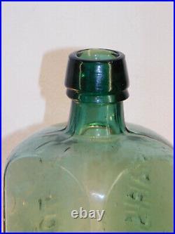 Antique Bottle Dr Townsend's Sarsaparilla Albany N. Y Blue Green Old Bottle 1880