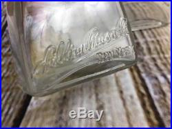 Antique Bottle Lillian Russell's Toilet Preparations New York early 1900's Glass