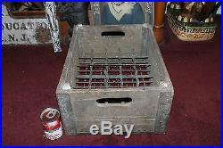 Antique Dairymen's League NY Wood Milk Bottle Carrier Crate-Holds 30 Bottles