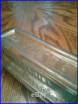 Antique EX RARE aquaDr. Tutt's //Sarsaparilla & Queen's Delight//New York 7.5