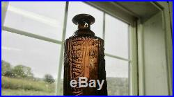 Antique H H Warners Tippecanoe Bitters Amber Bottle 83 Rochester NY