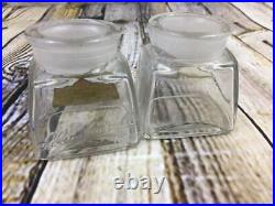 Antique Lillian Russell Toilet Preparation New York Bottle Glass Vanity 1900's 2