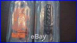 Antique Milk Bottles 8 Bottles from New York and Container