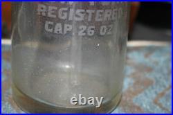 Antique Myer Bottling Company New York Clear Glass Seltzer Bottle