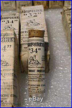 Antique Pharmacy Bottles Humphrey's Medicine Company New York