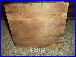 Antique Primitive Apothecary Medicine Wood Wooden Bottle Crate MALTINE NEW YORK