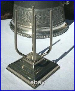 Antique SODA BOTTLE HOLDER / Stand by SSC. S. Sternau & Co. Of Brooklyn New York