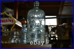 Antique SUNSET Spring Early Mineral Water Catskill Haines Falls NY 11 inches