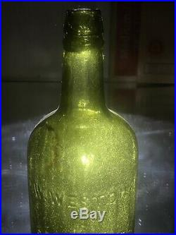 Antique Saratoga NY Mineral Water G. W. Weston & Co. Fantastic Seed Bubbles
