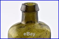 Antique Stoddard NH John Moffat Phoenix Bitters New York Glass Bottle